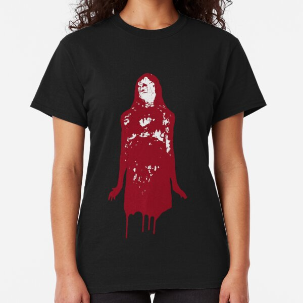 Stephen King Brian de Palma Sissy Spacek Prom Night Terror Carrie Camiseta