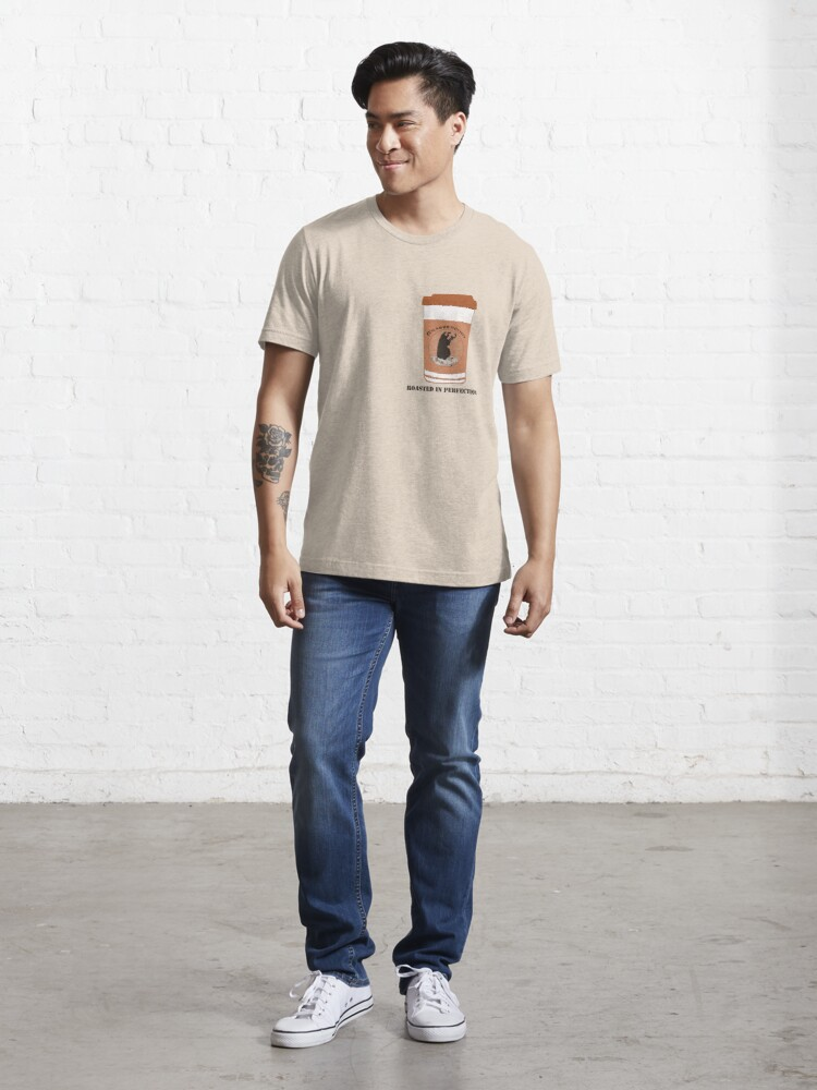 Alternate view of Grabbercino - Roasted in Perfection Essential T-Shirt