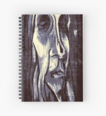 Wood Man Spiral Notebook
