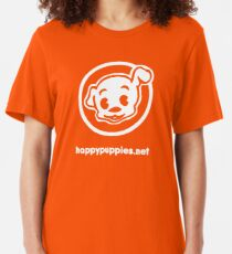 happypuppies.net Slim Fit T-Shirt