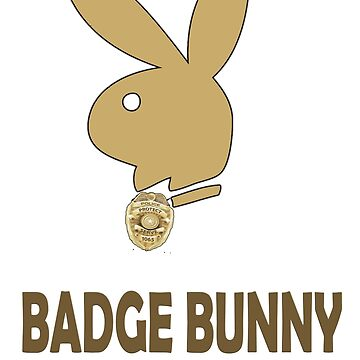 Badge Bunny by thelight