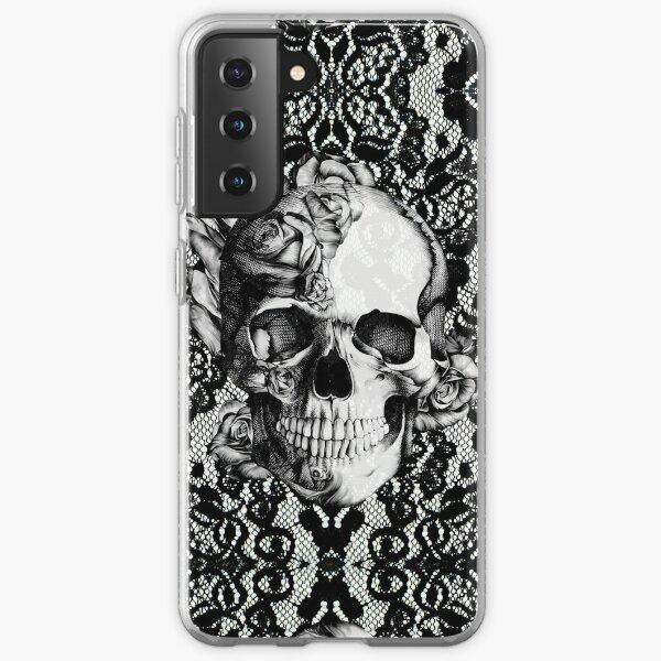 Gothic Lace skull Samsung Galaxy Soft Case