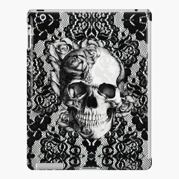 Gothic Lace skull iPad Snap Case