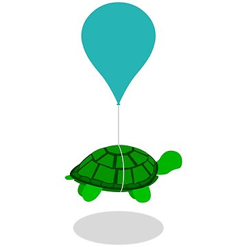 Floating Turtle by hogies