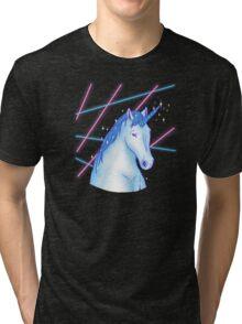Laser Portraitcorn Tri-blend T-Shirt