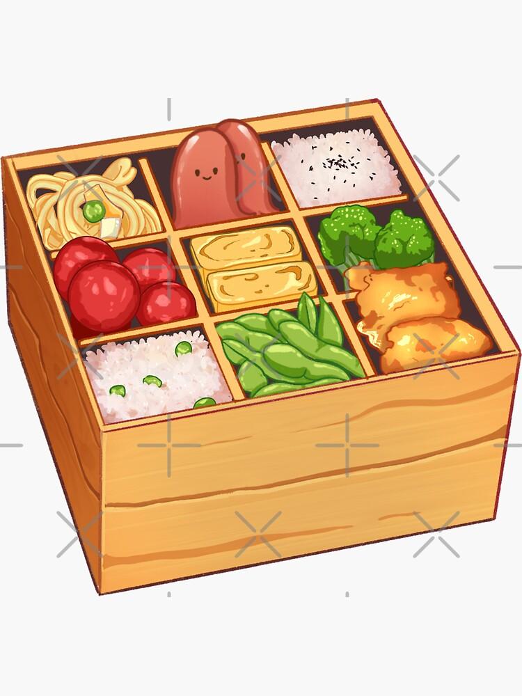 Cute Bento Box by bitesizedstar