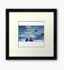 X Files - Fight The Future Framed Print