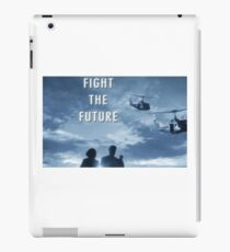 X Files - Fight The Future iPad Case/Skin