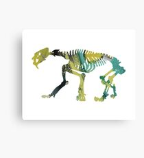saber toothed tiger Canvas Print