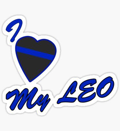 I love my LEO Sticker