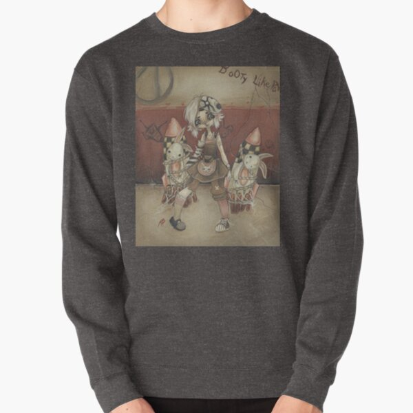 Tina and the Damsels Pullover Sweatshirt