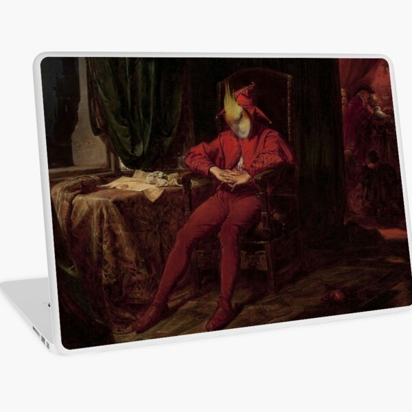 The Brooding Piklette Laptop Skin