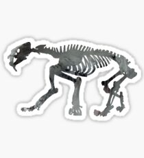saber toothed cat Sticker