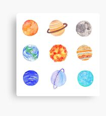 planets Canvas Print