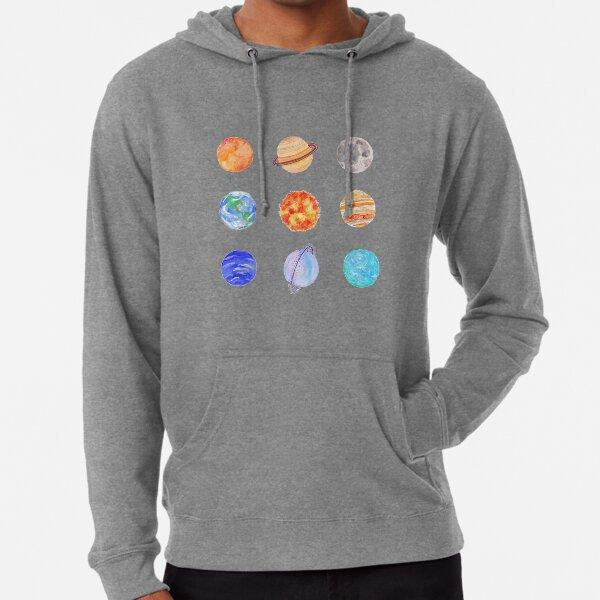 planets Lightweight Hoodie