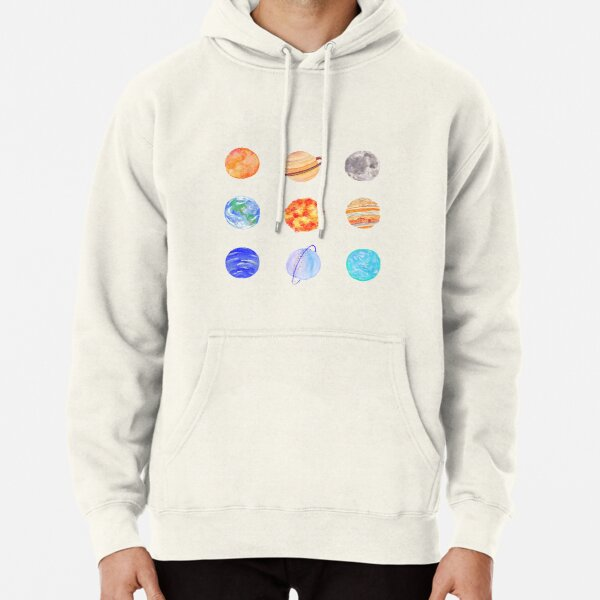 planets Pullover Hoodie