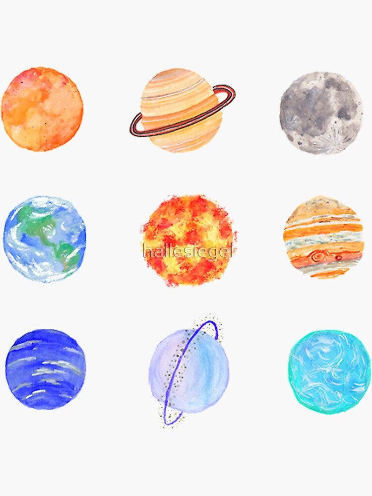 planets by hallesiegel