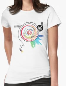 Pendulum Vinyl Music Mashup Womens Fitted T-Shirt
