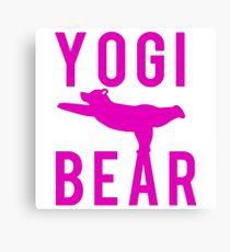 Yogi Bear Canvas Print