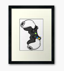 Good Gloves • Video Games Framed Print