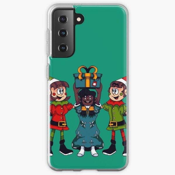Elves and Child - Santa Playland Samsung Galaxy Soft Case
