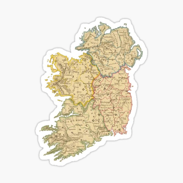 Vintage Ireland Sticker