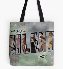 Greetings From Silent Hill! Tote Bag