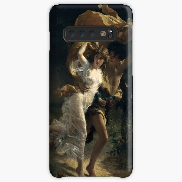 The Storm, Pierre-Auguste Cot, Date: 1880 Samsung Galaxy Snap Case