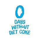 0 Days Without Diet Coke by Wendy Tyrer
