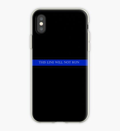This Line Will Not Run iPhone Case