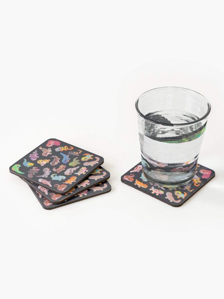 Alternate view of Gecko Coasters (Set of 4)