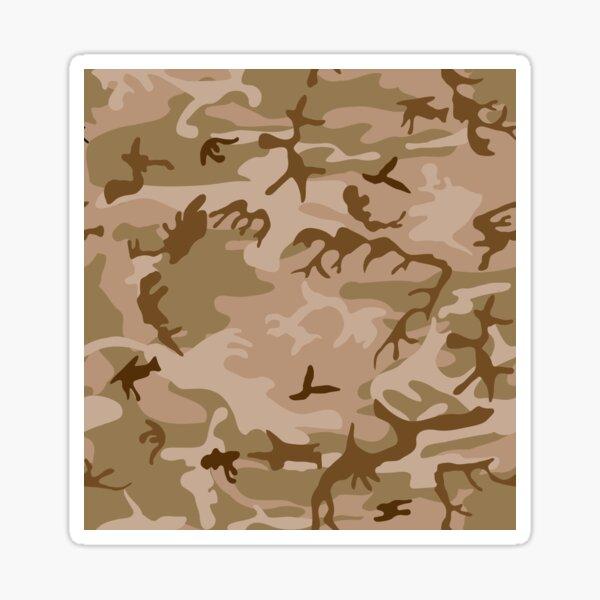 Wüsten-Tarnung Sticker