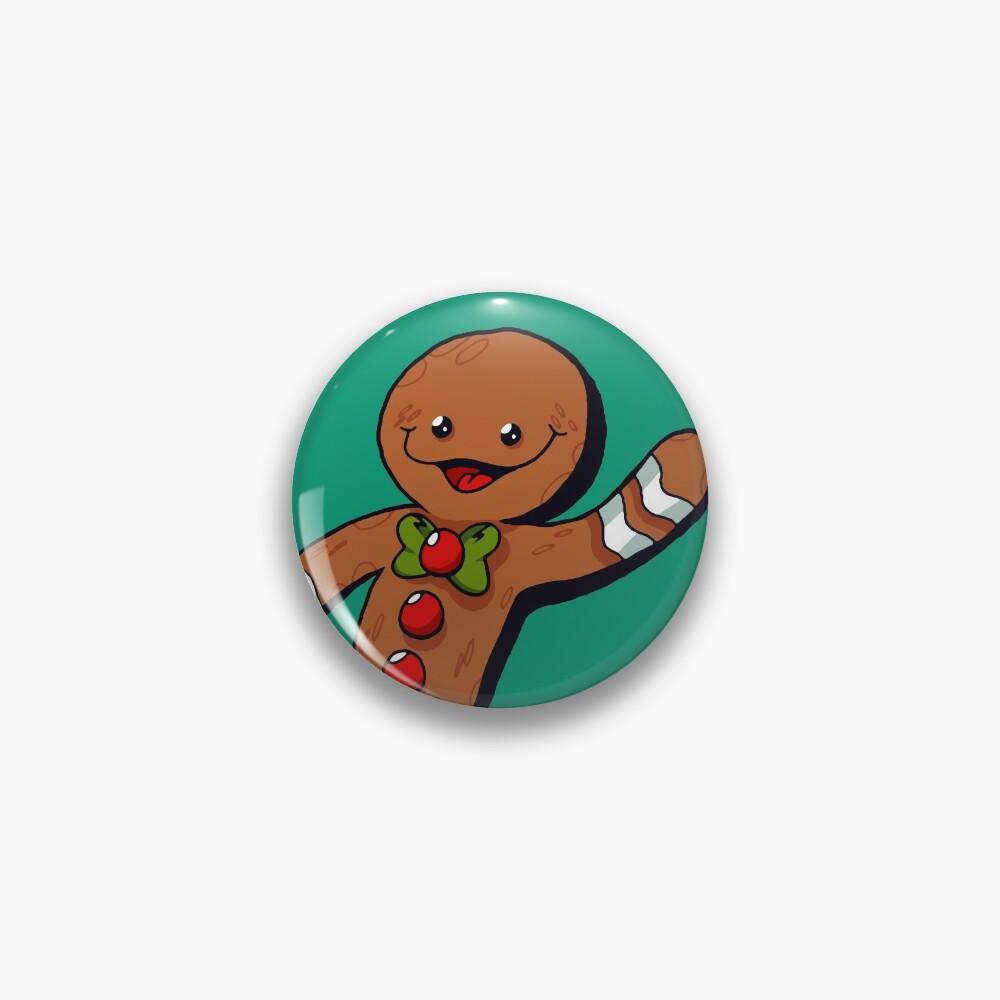 Gingerbread Man - SantaPlayland Pin
