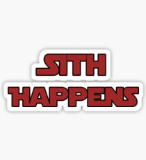 It happens Sticker