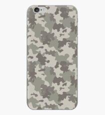 Graue Tarnung iPhone-Hülle & Cover