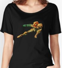 Metroid Women's Relaxed Fit T-Shirt
