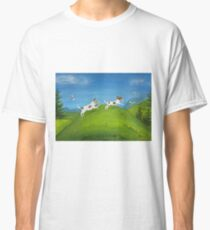 Jack Russells, morning run Classic T-Shirt