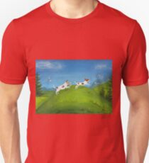 Jack Russells, morning run Unisex T-Shirt