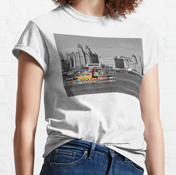 """Liverpool Mersey Ferries """"Dazzle Ferry"""" Classic T-Shirt"""