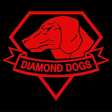 Diamond Dogs Red by royalbandit
