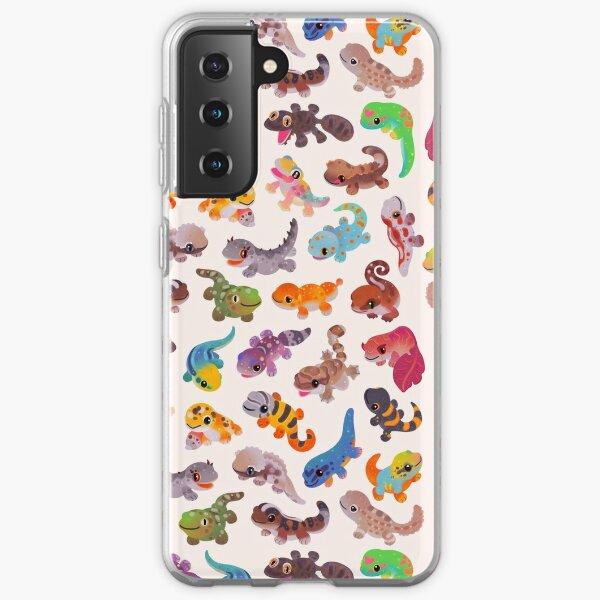 Gecko - bright Samsung Galaxy Soft Case