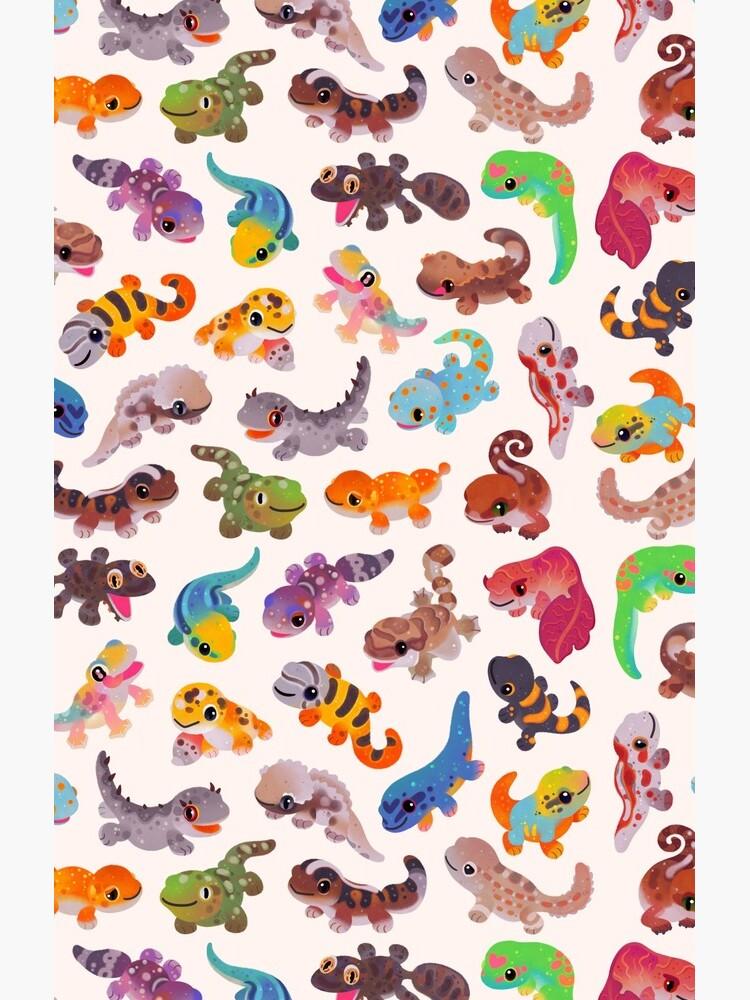 Gecko - bright by pikaole