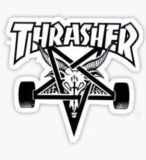 Thrasher Magazine Logo Sticker