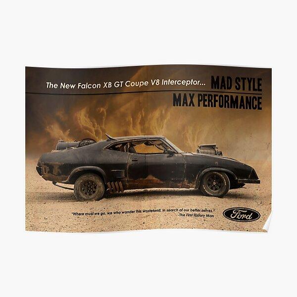 Mad Max Interceptor Poster
