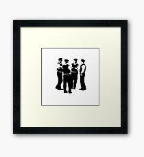 The Laughing Policemen Framed Print