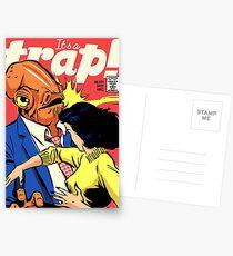 It's a Trap! Postcards