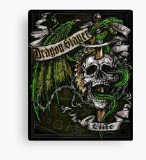 Dragon Slayer Elite Crest Canvas Print