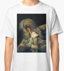 Goya, Saturn devouring his son Classic T-Shirt
