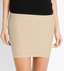Hearts  Mini Skirt