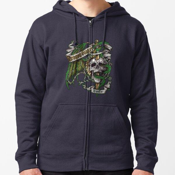 Dragon Slayer Elite Crest Zipped Hoodie